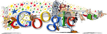 Asterix on Google