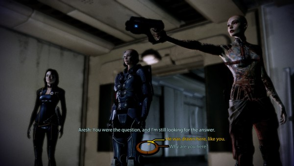 MASS EFFECT 2: which of the above seems more cinematic?