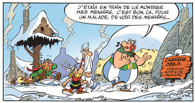 Asterix, you look a little off-colour
