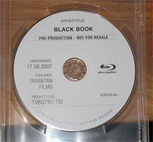 Black Book check disc - spot the spelling mistake