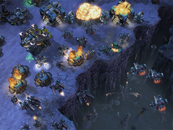 One-third of Starcraft II. (Remaining two-thirds not pictured.)